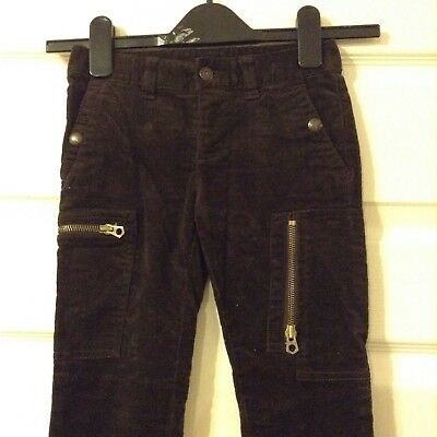 Ralph Lauren trousers for 6 years old boy-dark brown-new 2