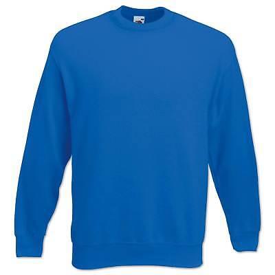 Fruit of the Loom Sweatshirt Set-In Herren Pullover Pulli Gr. S M L XL 2XL 3XL 8