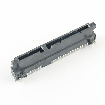 """5Pcs Sata 7+15 Pin 22 Pin SMT SMD Male Adapter Connector For 2.5/"""" Hard Drive HDD"""