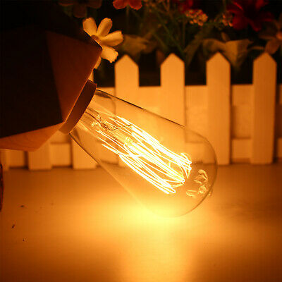 E27 40w Vintage Led Edison Ampoule Filament Clair Décoration de Maison 5