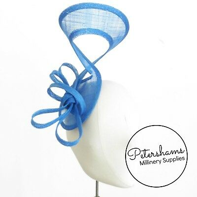 Sinamay Swirl - Make an Instant Fascinator for Hat Making and Millinery! 5