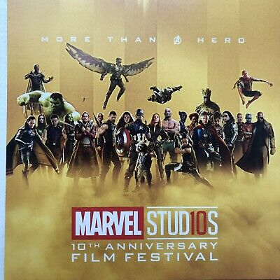 Marvel's Avengers Infinity War Endgame IMAX Ticket 4 Set - Thanos Iron Man Thor 10