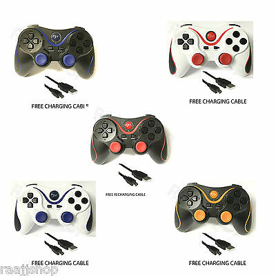 New Bluetooth Wireless Gamepad Controller Joystick Remote For Playstation 3 Ps3 3