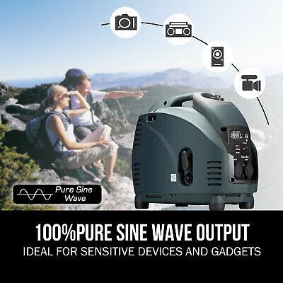 [20%OFF]GenTrax Portable Inverter Generator 3.5kw Digital Petrol Pure Sine New 4