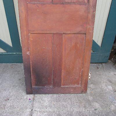Antique Hand Made Wooden Cross & Book Door, Bennington Knob,Through Tenon,1840's 11