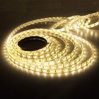 5m 10m 20m LED Strip RGB stripe Band streifen 5050/3528 Lichtband Licht warmweiß 3