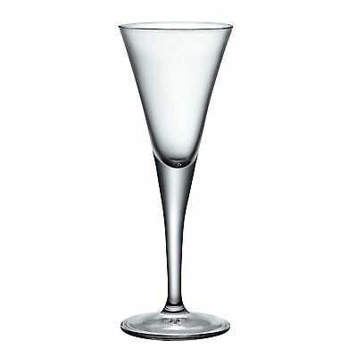 Stemmed Sherry Glasses, 55ml Fiore Clear Barware Drinking Tableware - Set of 6 3
