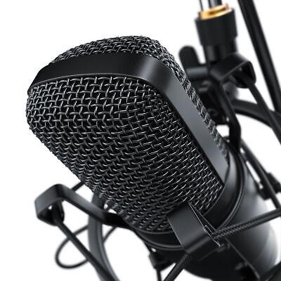 LIAM & DAAN Profi Podcast Set Studiomikrofon Set Großmembran Kondensatormikrofon 5