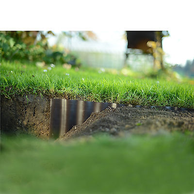 Plastic Garden Grass Lawn Edge Edging Border Fence Wall Driveway Roll Path 6