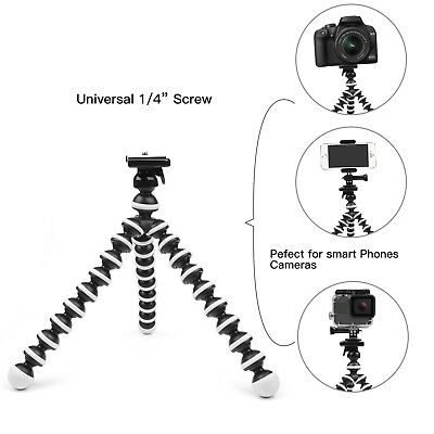Octopus Flexible Tripod Stand Gorillapod Holder for GoPro 6 5 Canon Nikon DSLRs 8