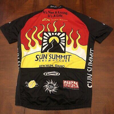 New Verge Longsjo Medium Classic Race Leader Men/'s S//S Cycling Jersey Closeout!