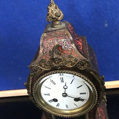 French Buelle Mantle Clock Georgian 2