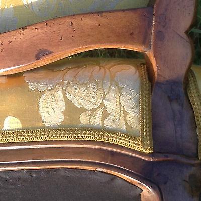 Baroque Chair Armchair Louis XV Art furniture Rococo Antique Vintage Type 8