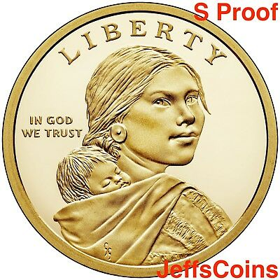 2019 S SACAGAWEA NATIVE AMERICAN Indians In The Space Program PROOF Dollar $1 PF 2