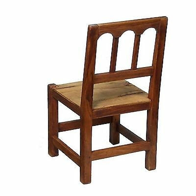 Natural Rustic Olive Beech Wood Childrens Playroom Bedroom Dining Kitchen Chair 2