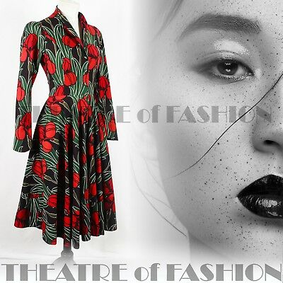 DRESS WEDDING 50s 40s VINTAGE DROOPY AND BROWNS VAMP DIVA TIMELESS BEAUTY RARE 9