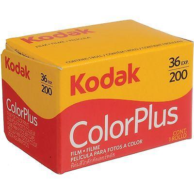 5 Rolls Kodak ColorPlus 200 135-36 Exp. Color Plus 35mm Color Film, US SELLER 3