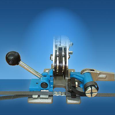 Umreifungsgerät für 15, 15,5 und 16 mm PP und PET Umreifungsband, Bündelgerät
