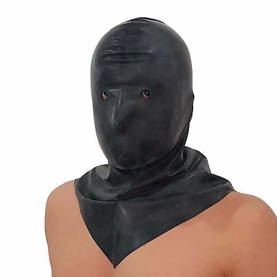 Latex-Hangman's Henker Maske aus Gummi, Einheitsgröße 4