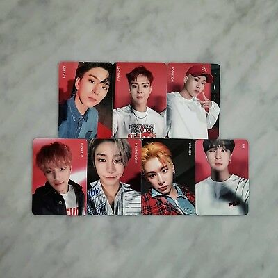 MONSTA X - 2nd Album Take.1 Are You There ? Shoot out Official Photocard 6