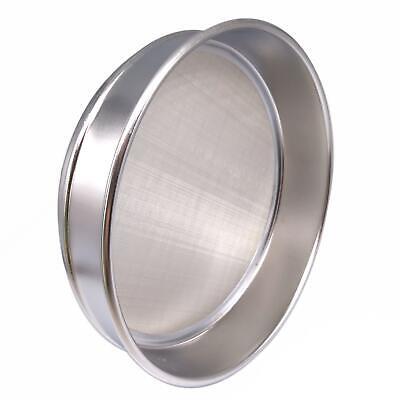 1pc 120 Mesh 0.125mm Aperture Lab Standard Test Sieve Stainless Steel Dia 200mm 2
