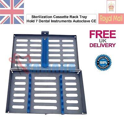 Zamaha Sterilization Cassette Rack Tray Hold 7 Dental Instruments Autoclave CE 3