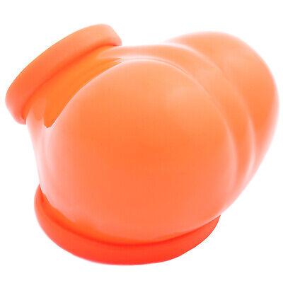 Frei Haus Toylie Latex Penishülle Ben neon-orange ohne Schaft Latexkleidung Club 3