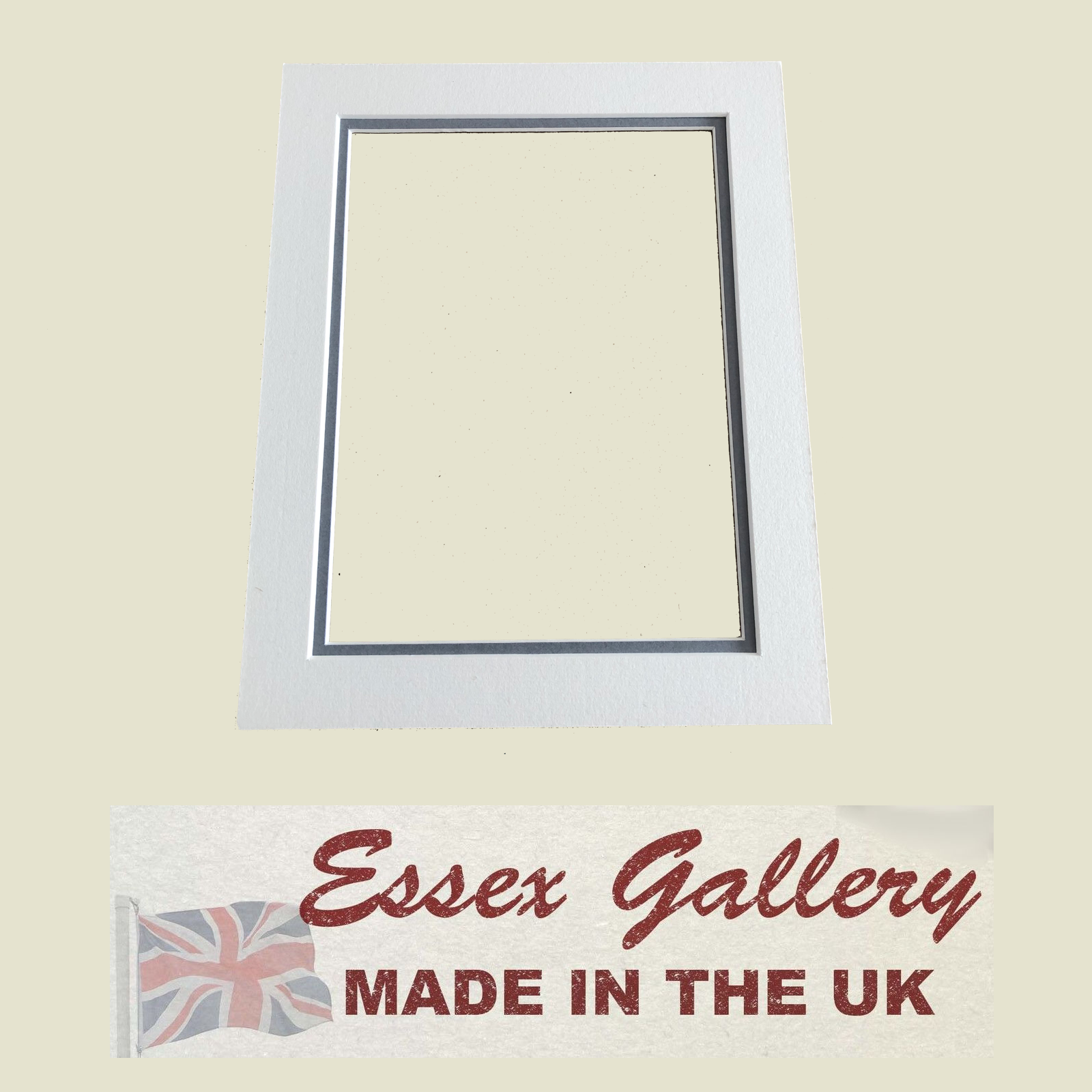 Bespoke Picture & Photo Frame Double Mounts - Cut to Any Size (Max Size 20x16) 5