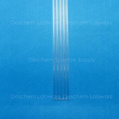 5PCS 300mm,Quartz Glass Tube,OD=12mm,Thcik=1.0mm,ID=10MM,Made BY Fused Silica 5