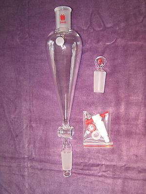 Kemtech America Advanced Organic Chemistry Lab Glassware Kit 24/40 & Metal Clips 8