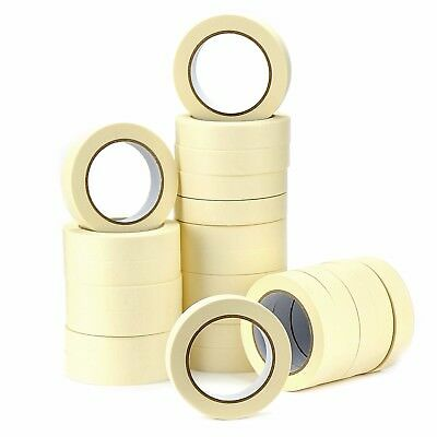 Masking Tape 50Mm-25Mm X 50M Painting Decorating Easy Tear General Purpose Art 3