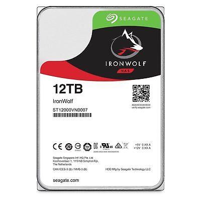 Seagate IronWolf 1TB 2TB 3TB 4TB 6TB 8TB 10TB 12TB Internal NAS Hard Drive HDD 9