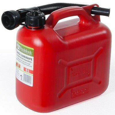 Tanica Taniche Omologata Plastica Carburante Benzina Gasolio 5 - 10 - 20 Litri 2