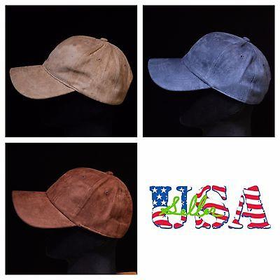 31b65753066d ... Suede Baseball Cap Plain Hat Visor Solid Caps Unisex Vintage Casual Hats  Red 4