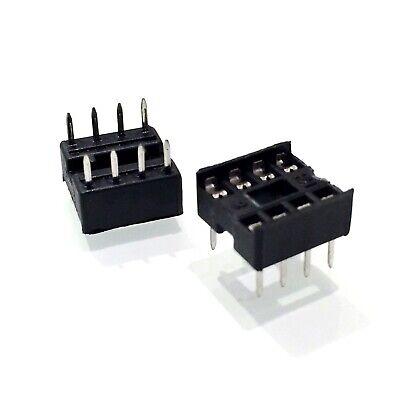 2 PCS USA SELLER! 16-Pin DIP IC Socket Adaptor Solder Type Retention Contact