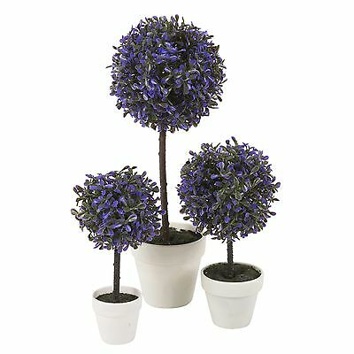 Decorative Artificial Outdoor Ball Plant Tree Pot Colour Small Medium Large 10