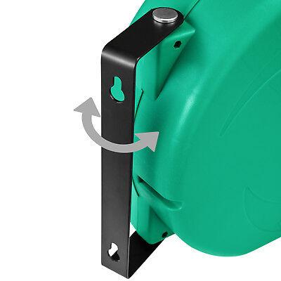 Enrouleur automatique de tuyau d'arrosage pour jardin Tuyau d'eau inclus 20 m 9
