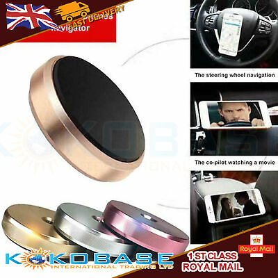 In Car Magnetic Phone Holder Fits Dashboard Universal Mount Various Colours 4