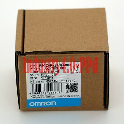 1PC OMRON Temperature Controller E5CC-RX2ASM-800 100-240VAC New in box#XR 3
