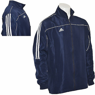 blue and white adidas tracksuit