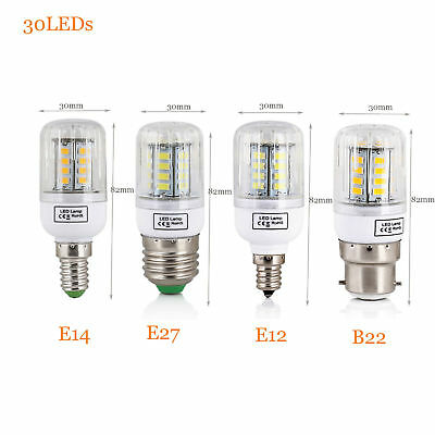 E27 E14 E12 B22 LED Corn Bulb 5730 SMD Light Corn Lamp Incandescent 20W - 160W 4