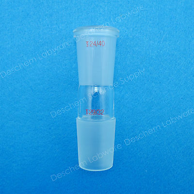 Glass Reducing Joint from 29/32 to 24/40,Lab Glassware 4