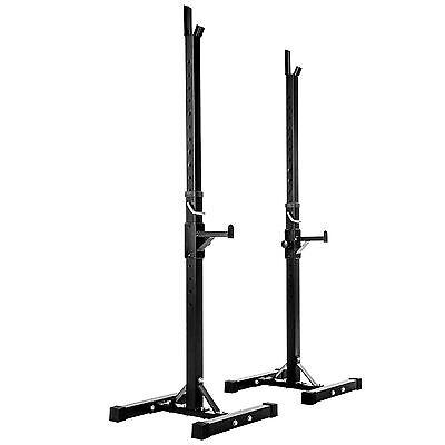 Support Repose Barre musculation pour haltères longs à disques. max env 100kg 5