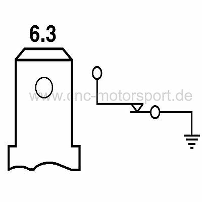 Öldruckschalter 0,35 bar M12x1,5 für Schlepper Traktor Schalter Öldruck 2