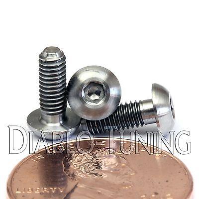 DIN 9427 BUTTON HEAD Socket Cap Screw TITANIUM M5 x 8mm Ti Hex Allen BHCS