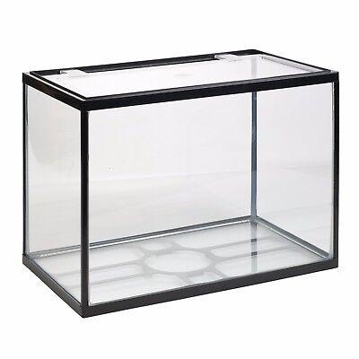 26 Litre Glass Aquarium Fish Tank Starter Kit Set Filter Pump Net Plant Stones 3