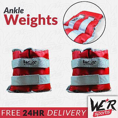 1kg 1.5kg 3kg 4kg 5kg 8kg Ankle Wrist Weights Exercise Training Fitness Running