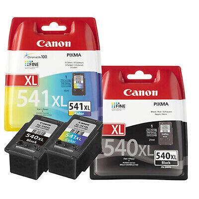 Canon PG540XL Noir & CL541XL Tricolore cartouche d'encre pour PIXMA MG2150/3150 2