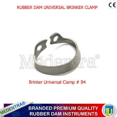 Universal Rubber Dam Brinker Clamps Upper-Lower-Anterior-Clamp B1.B2.B3,B4,B5,B6