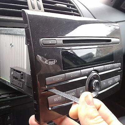 Drives Disassembly Keys for Dismantle Radio Car Radio Visteon Fiat Bravo 2007